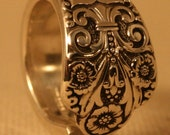 Spoon Ring PRECIOUS 1941 custom made to your size SPOON RING - Can be sized 5 - 13