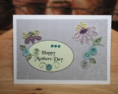 Quilled Mothers Day card