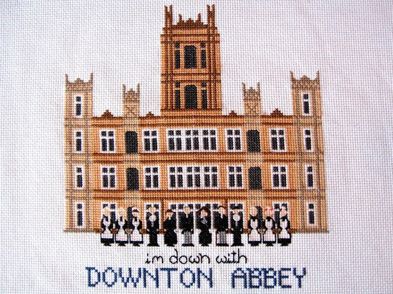 Downton Abbey Cross Stitch Pattern