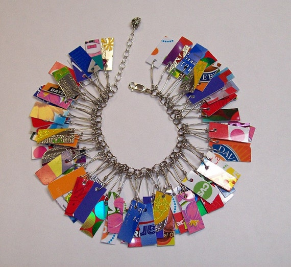 Take Credit Bracelet in Party Bright Colors