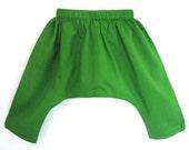 2T Moss Green Sarouel Baba Pants