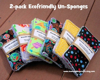 Sale Eco friendly 2 pack kitchen unsponges