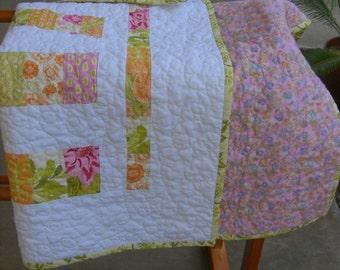 Handmade Quilt Small, but Sweet