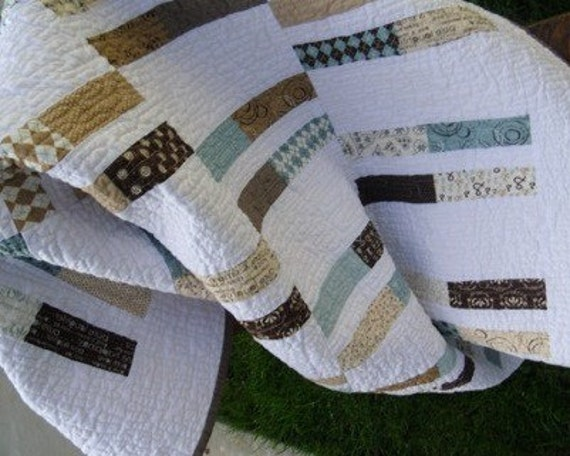 Handmade Boy Quilt Pure by Sweetwater