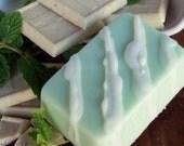 20 PERCENT OFF SALE - ICED VANILLA MINT Soap