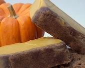 Pumpkin Sugar Scrub Soap - The Great Pumpkin Soap with Pumpkin Puree, Thanksgiving Soap, Bakery Primitive - BubblesUpByBethieB
