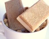 Brown Sugar Soap -  Sugar Scrub Soap with Brown Sugar Molasses, Exfoliating Scrub Soap, Primitive Soap