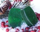Holiday Sale - Christmas Spruce Soap  -  Holiday Tradition - Green Christmas Tree - Spruce Fragrance Soap