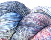 Bruised Heart - Handdyed Superwash Merino/Nylon Sock Yarn  FREE SHIPPING