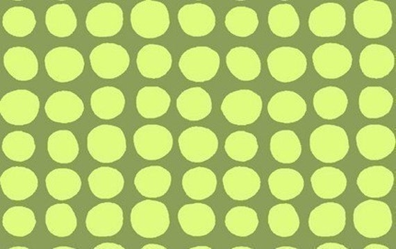 1 Yard Amy Butler Love Collection Sun Spots in Olive