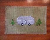 RESERVED ITEM: Cross Stitch Airstream Trailer