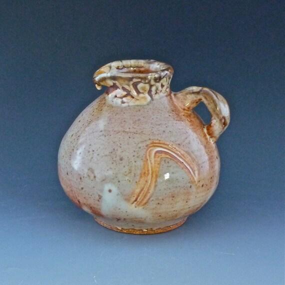 Pitcher Wood Fired Stoneware -224
