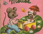 Timmy Mouse Vintage BOOK - Selling off my vintage book stash to raise money for Japan Relief