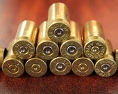 Size 45 AUTO - WINCHESTER BRAND - Spent Bullet Shell Casings - Ammo - set of 12 pieces -perfect for Altered Art and Steampunk Creations