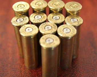 SET OF 24 - 38 Special Assorted Brands Spent Bullet Shell Casings - Ammo- perfect for Altered Art and Steampunk Creations
