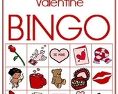 Valentine Printable Bingo Game