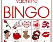 Valentine Printable Bingo Game