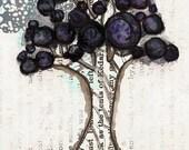 Elderberry - ACEO Reproduction Print