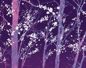 Make it Through (purple) - 12x18 Print