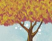 Tree art print - 8x10 - Hope for Better