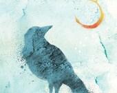Call of the Moon - 12x18 Print