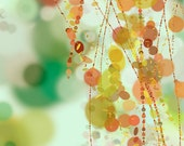 Hanging Beads - 24x36 Fine Art Print - Modern Abstract Art