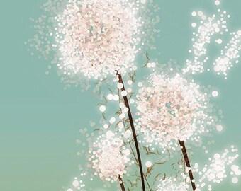 Dandelion Art Print - Perennial Moment - 12x18