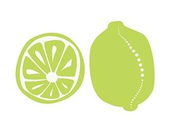 Limes - 12x18