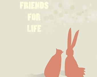 Friends For Life - 8x10 Print
