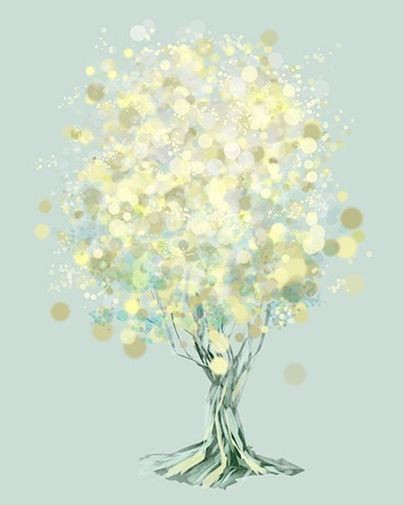 Lemon Bubble Tree - 8x10