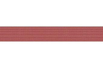 "50 yards Chocolate Brown 1/4"" SKINNY elastic"