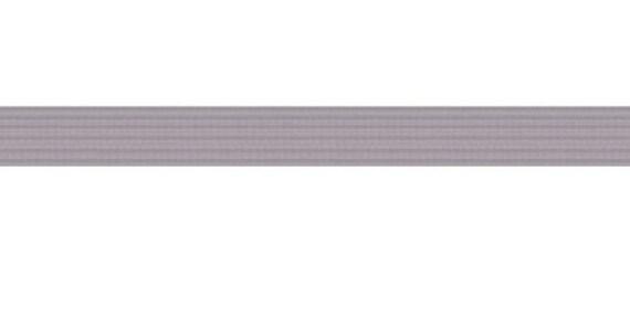 "50 yards Ash Grey 1/4"" SKINNY elastic"