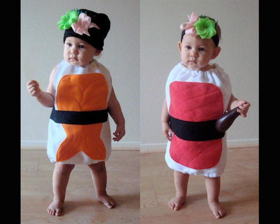 Baby Costume Sushi Baby Toddler Halloween Costume