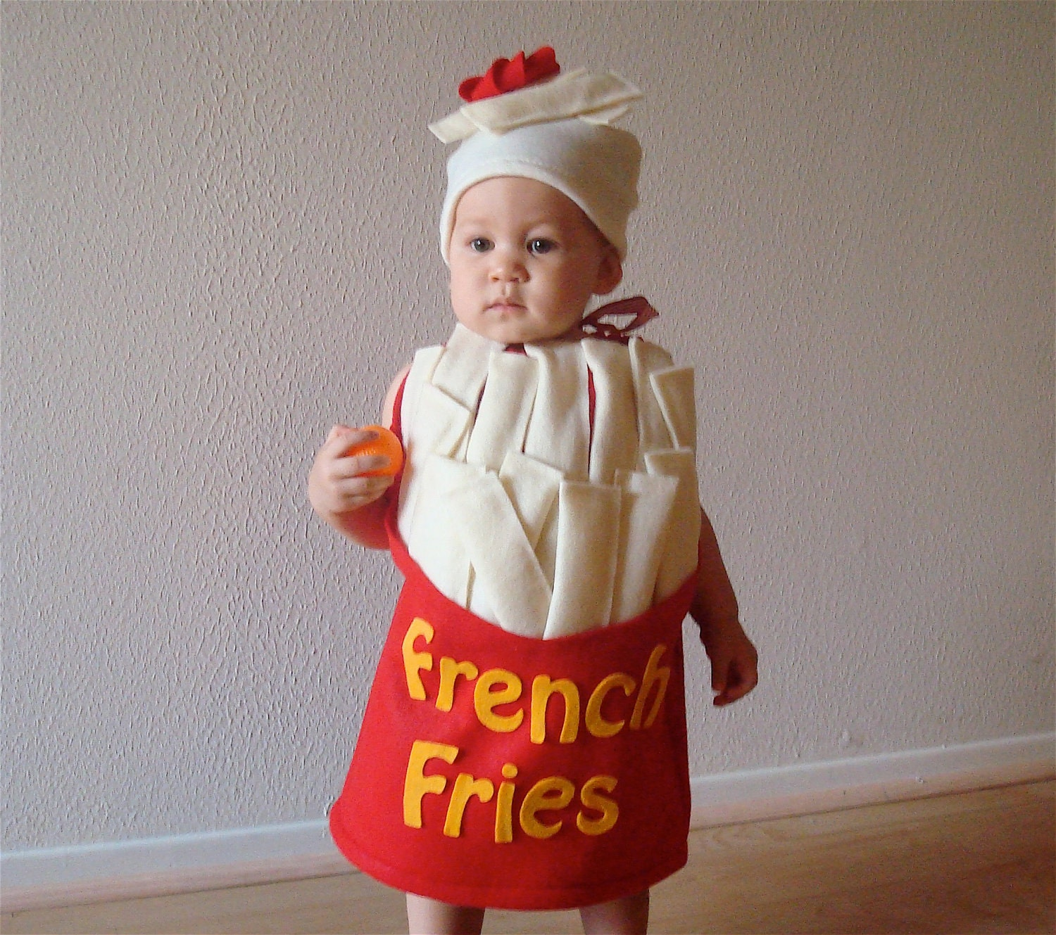 French Fry Baby Toddler Costume
