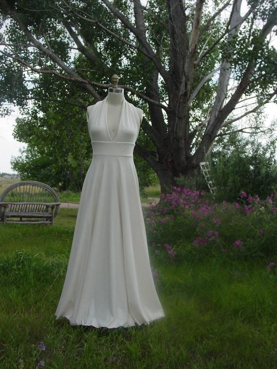 An Organic Wedding Dress . Custom Made
