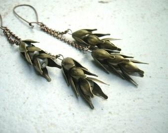 Wheat earrings 2
