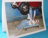 funny fathers day card by Monkey Moments H23