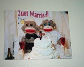 Exclusive Monkey Moments Wedding Magnet W3