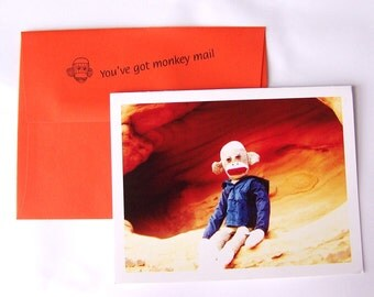 Hilarious Fun Celebration Card by Monkey Moments A18