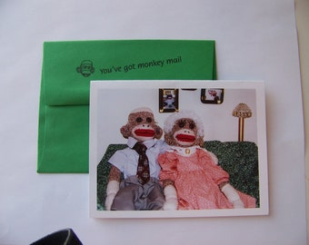 funny anniversary card by Monkey Moments S2