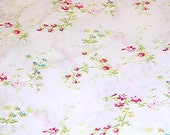 Rachel Ashwell Shabby Chic Lingerie White Pink cotton poplin Home Collection fabric