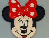 Miss Mouse Embroidered Applique -100129