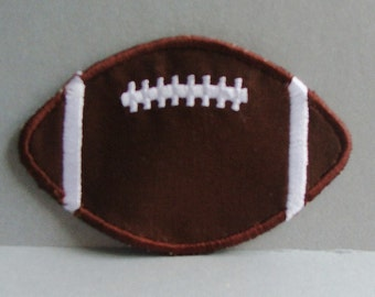"""Set of (2) Small FOOTBALL Patches 3""""x2""""-100008"""