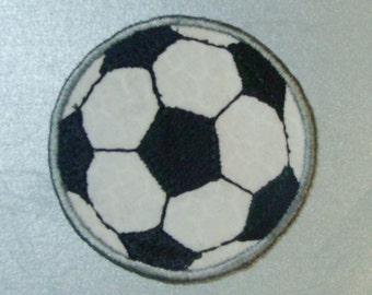 Soccer Ball Patch Embroidered  Applique-100009