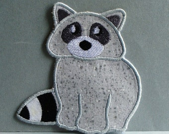 Racoon Embroidered Applique Clothing Patch DIY 100062