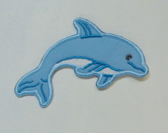 Dolphin Patch Embroidered Clothing Applique DIY-100001