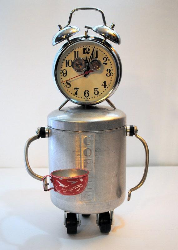 Felix, Your New Coffee Clock Robot