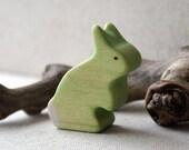 Rainbow Rabbits- Green
