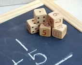 Math Dice and Journal