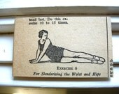 Exercise 6 Magnet Upcycled Eco Friendly